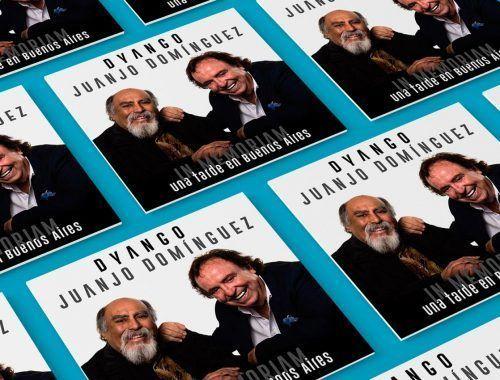 Dyango dedicó su disco al guitarrista Juanjo Domínguez