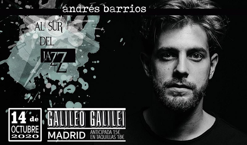Andrés Barrios en Madrid